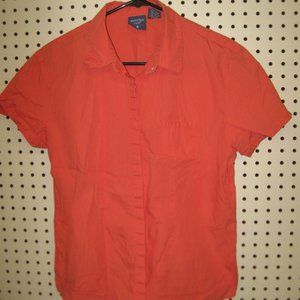 Women's Short Sleeve Button Up By Mountain Lake